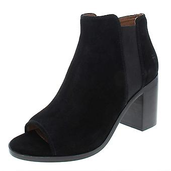 FRYE Womens Danica Suede Ankle Chelsea Boots