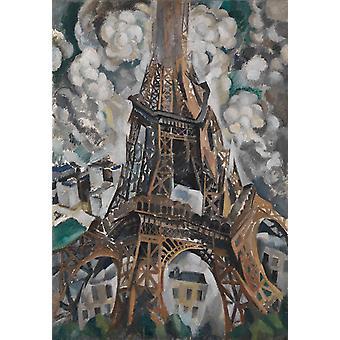 Eiffel-torni, Robert Delaunay, 60x42cm