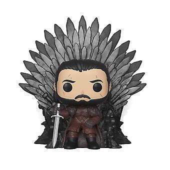 Funko POP DELUXE: Game of Thrones - Jon Snow assis sur Trône Figure de collection