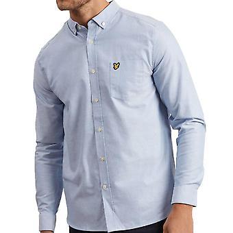 Lyle und Scott Long Sleeve Oxford Hemd Riviera