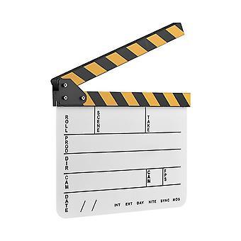 Pat Board CLAP elokuvan tallennus-valkoinen