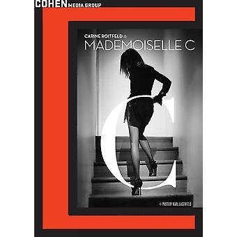 Mademoiselle C [DVD] USA import