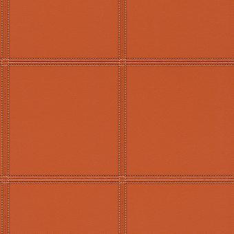 3D Texturizado Cuero Efecto Fondo Papel Pintado Naranja Vinilo Pegar La Pared Rasch