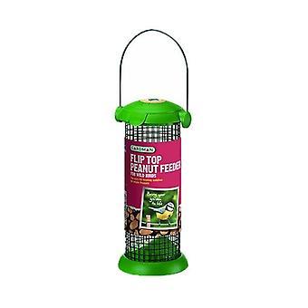 Flip Top alimentatore dell'arachide per uccelli selvatici
