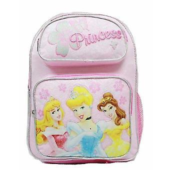 Medium Backpack - Disney - Princess - Pink w/Flowers School Bag 37697