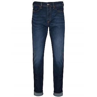 Diesel Regular Slim Fit Buster Blue Rinse Jean