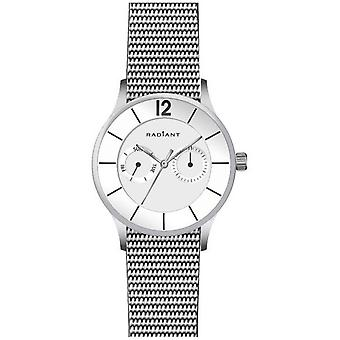 Radiant new north week Quartz Analog Man Watch with RA418701 Stainless Steel Bracelet