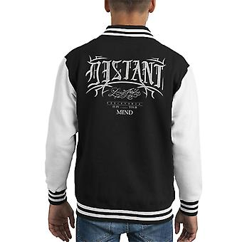Divide & Conquer Distant Los Angeles Kid's Varsity Jacket