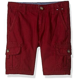 Gymboree Baby Boys Cargo Shorts, Burgundy 18-24 mo