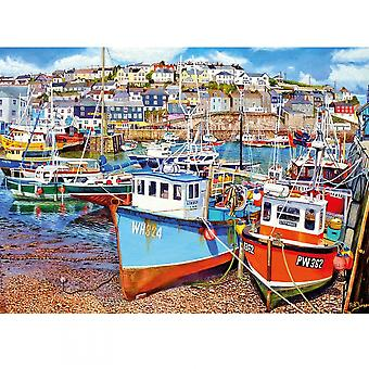 Gibsons Mevagissey Harbour - puzzle 1000 szt