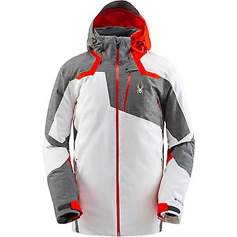 Spyder LEADER Men's Gore-Tex Primaloft Ski Jacket - White