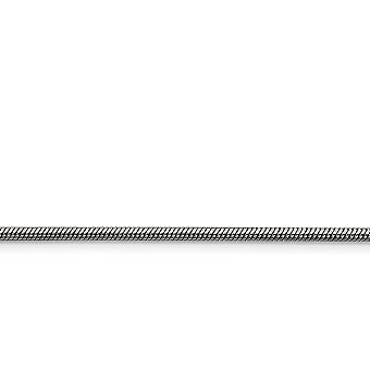 ステンレス研磨ファンシー ロブスター閉鎖 2.4 mm スネーク チェーン ネックレス - 長さ: 20 に 30