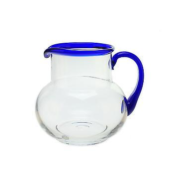 Bergdala Ttan-Blue RIM-pitcher/Jug Sangria round 160 cl Design