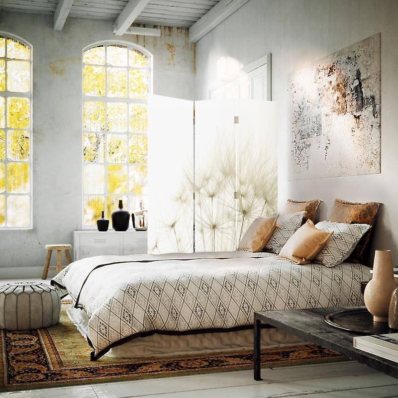 Diviseur de chambre, 3 panneaux, à un seul côté, toile, Dmuchawce 2