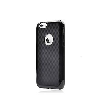 Carbon Fiber Back Cover For Apple Iphone 6 Black