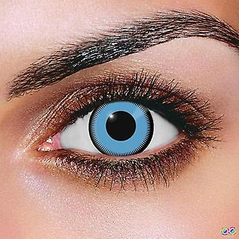 Saw Blue Contact Lenses (Pair)