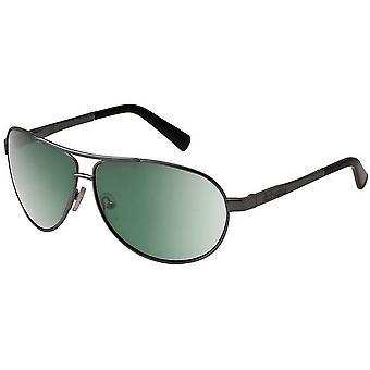 Dirty Dog Doffer Sunglasses - Gunmetal/Green