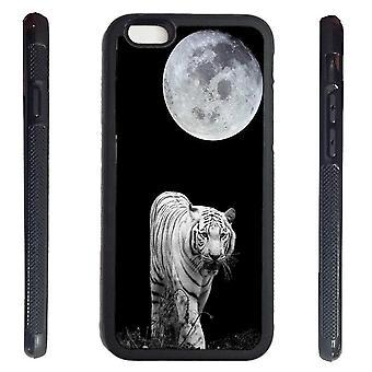 iPhone 6 Shell mit weißen Tiger Moon Bild drucken