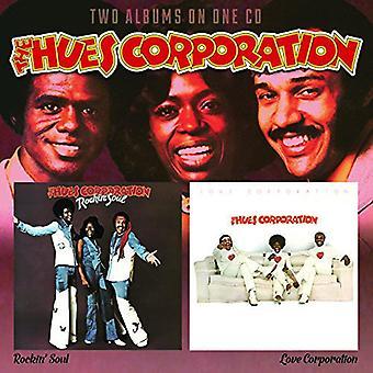 Hues Corporation - Rockin Soul / Love Corporation [CD] USA import