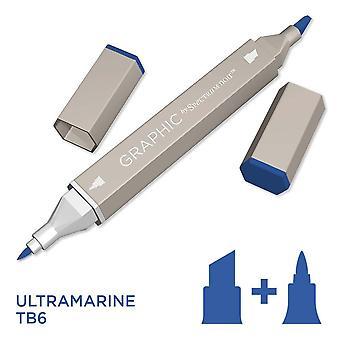 Grafisch door spectrum Noir enkele pennen-ultramarijn