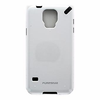 PureGear Slim Shell Case for Samsung Galaxy S5 - White and Gray