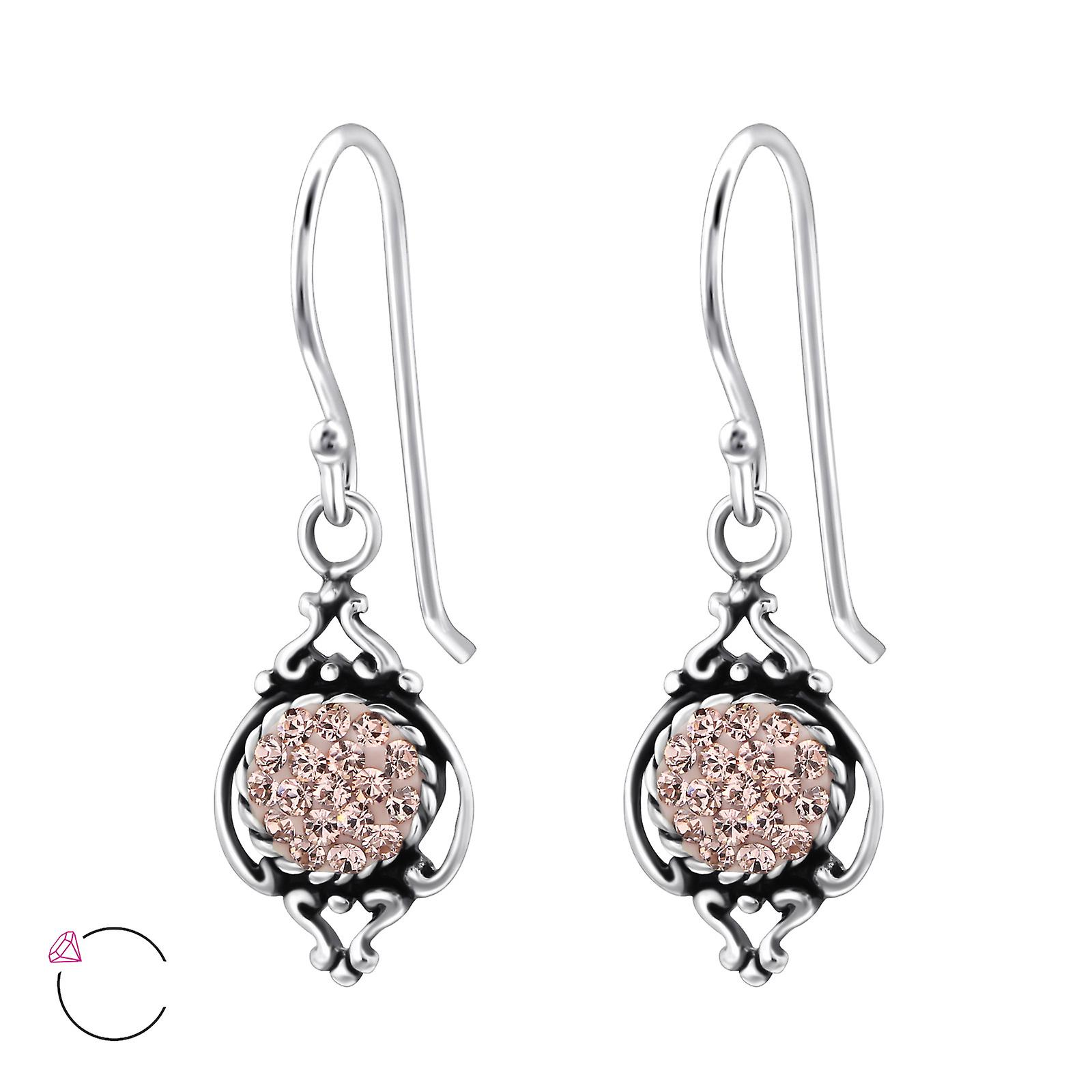 Marquise crystal from Swarovski® - 925 Sterling Silver Earrings - W25010X