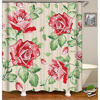 Classic Roses Drawing Shower Curtain