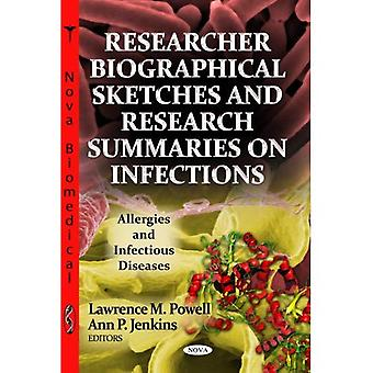Researcher Biographical Sketches & Research Summaries On Infections. Nova Science Publishers, Inc (US). 2013.