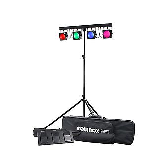 Equinox Gigabar MkII 4 X 30W RGB COB bar system