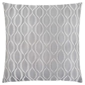 """18"""" x 18"""" Grey, Wave Pattern - Pillow"""