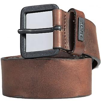 Replay Am2425 Brown Leather Belt