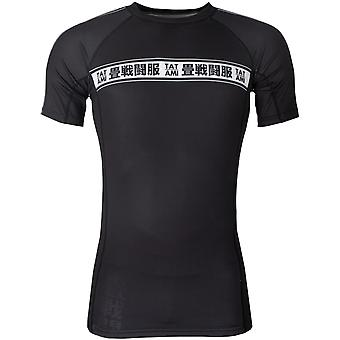 Tatami Fightwear Worldwide Jiu-Jitsu Rashguard - Negru