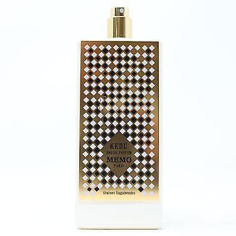 Memo Paris Kedu Eau De Parfum Spray 2.5oz/75ml New,as shown