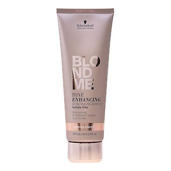 Shampoo farve forstærkning BLONDME Schwarzkopf (250 ml)