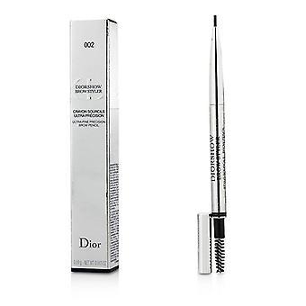 Christian Dior Diorshow otsa Styler Ultra Fine Precision otsa kynä - # 002 Universal tummanruskea - 0.1g/0.003oz