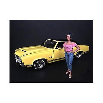 Hanging Out II Gloria Figur für 1/24 Skala Modelle von American Diorama