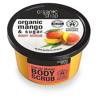 Organic Shop Kenyan Mango Body Scrub 250 ml