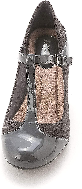 Giani Bernini Kvinners Vineza Skinn Cap Toe T-stroppen Mary Jane Pumper