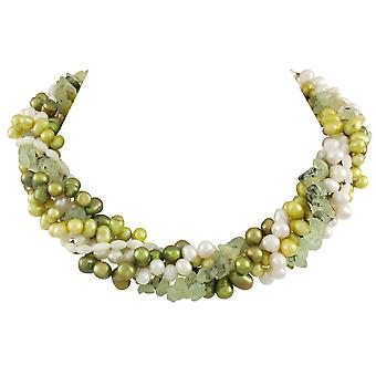 Eternal Collection Springtime Freshwater Pearl Torsade Necklace