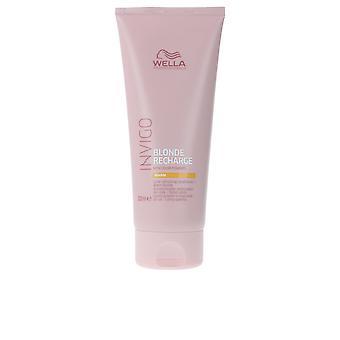 Wella Invigo Blonde Recharge Conditioner #warm 200 Ml Unisex