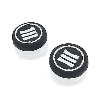 Thumbstick extender grips for sony ps4 controllers tall xl heavy duty non slip analog thumb cap mod - 2 pack white | zedlabz