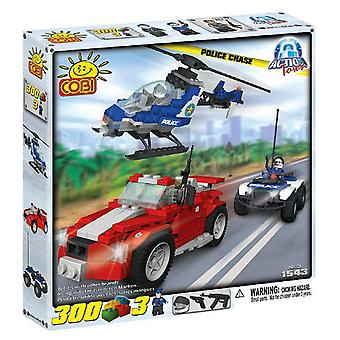 Action Town 300 Piece Police Chase Byggeri Set