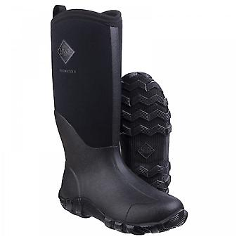 Muck Boots Unisex Black Edgewater Ii General All Purpose Tall Neoprene Lined Boots