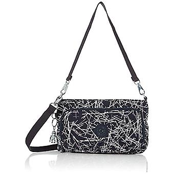 Kipling Myrte - Women's Multicolored Shoulder Bags (Navy Stick Print) 24x14.5x4.5 cm (B x H T)