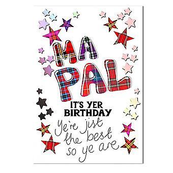 Geborduurde originelen Ma Pal Zijn Yer Verjaardag