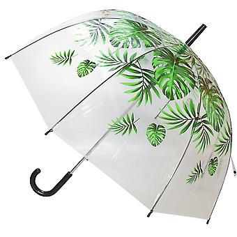 X-Brella Unisex Adults 23in Transparent Palm Stick Umbrella