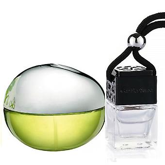 DKNY Be Delicious For Her Inspired Fragrance 8ml Black Lid Bottle Hanging Car Vehicle Auto Air Freshener
