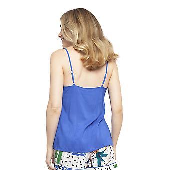 Cyberjammies 4446 Women-apos;s Alicia Royal Blue Modal Cami Pyjama Top