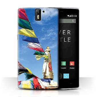 STUFF4 Case/Cover for OnePlus One/Prayer Flags/Inner Peace
