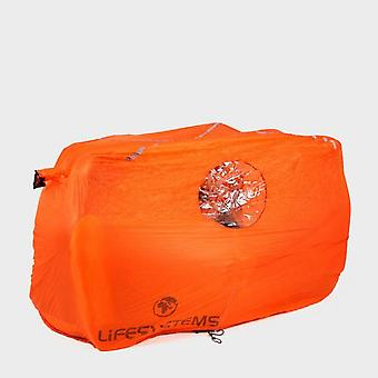 New LIFESYSTEMS Survival Shelter - 4 People Outdoors Camping Orange